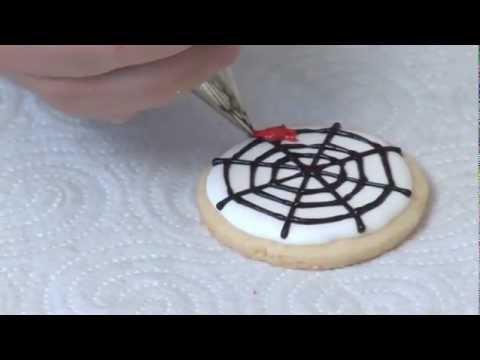 C mo hacer galletas con una tela de ara a para halloween - Como hacer tela de arana ...
