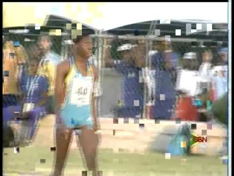 Carifta Games 2011 - Girls 100 Meter Dash - Bahamas Wins (Anthonique Strachan 11:51)