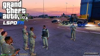 GTA 5 LSPDFR 0.3.1 - EPiSODE 25 - LET'S BE COPS - MILITARY PATROL (GTA 5 PC POLICE)