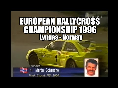 EM Rallycross Lyngs 1996(FIA ERC)