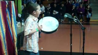 Yo This Kid Can Rock A Hand Drum Niizhoo Sullivan