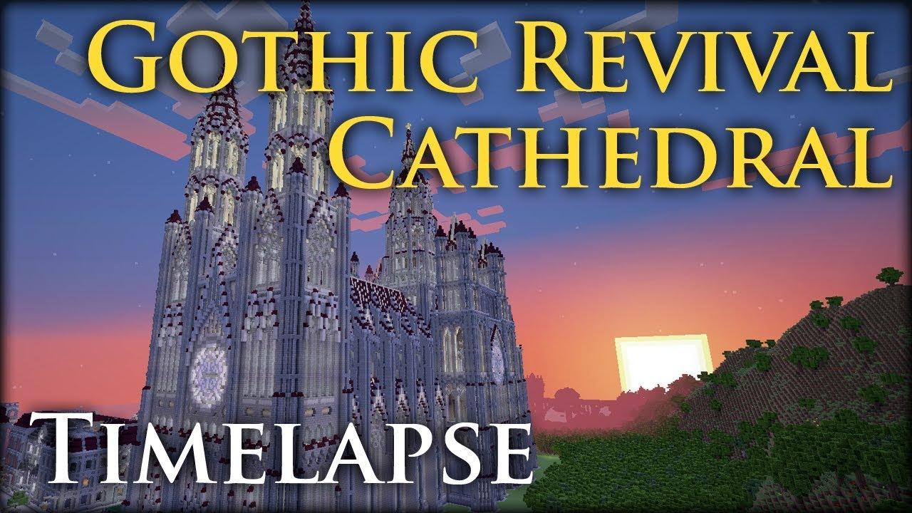 Minecraft Timelapse Gothic