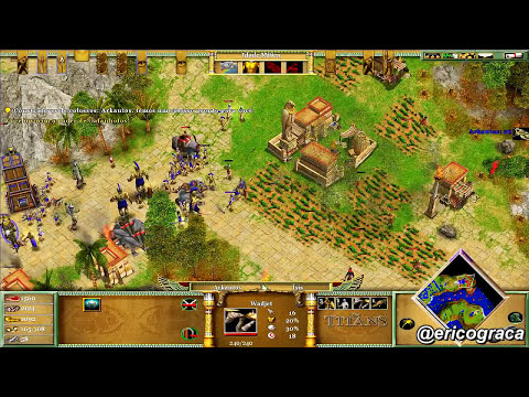 Age of Mythology - The Titans - Campanha AOM (Level 19) - Ep.16