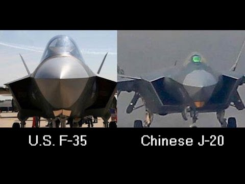 Stolen F-35 secrets showing up in China's stealth fighter