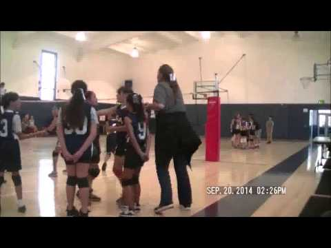 Mission Dolores Academy versus Good Sheperd 09202014 - 09/29/2014