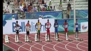 IAAF World Junior Championships Moncton 2010 - 100m men heat 2 - Lauf 2