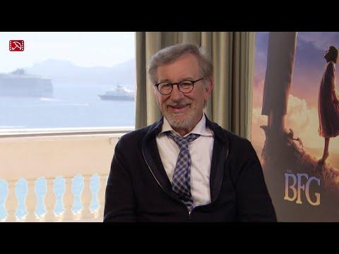 Interview Steven Spielberg THE BFG Cannes 2016