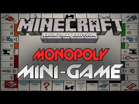 Minecraft: Xbox 360 - EPIC Monopoly Re-creation (Minecraft Mini-Game)