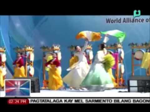 [News@1] Globalita: World Alliance Peace Summit, isinagawa sa South Korea