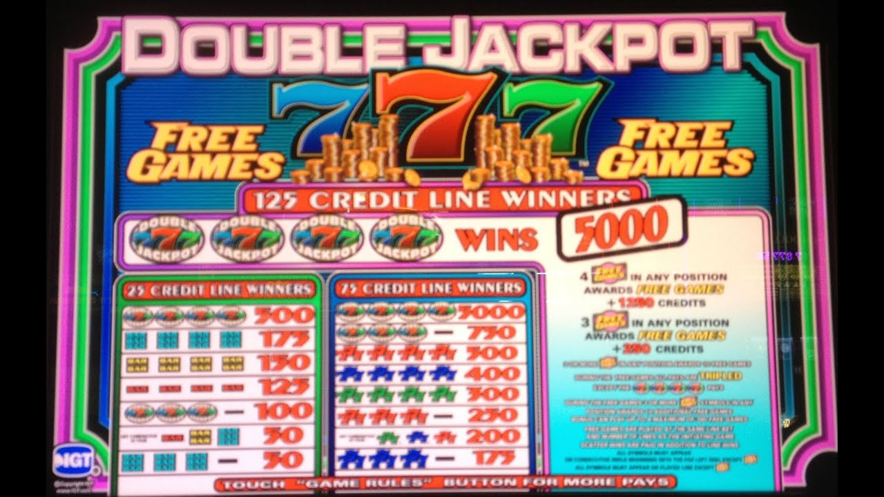 double sevens slots free