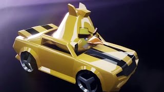 ANGRY BIRDS TRANSFORMERS Bumblebee Stream