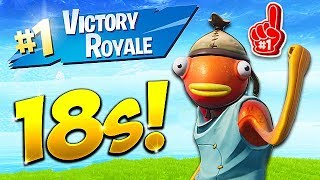 *NEW RECORD* 18 SECOND GAME WIN! - Fortnite Funny Fails and WTF Moments! #437  from BCC Trolling