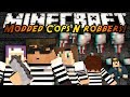 Minecraft Mini-Game : MODDED COPS N ROBBERS! SLENDER!