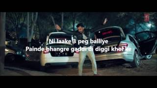 3 PEG | LATEST PUNJABI SONG | LYRICS VIDEO | LYRICAL VIDEOS