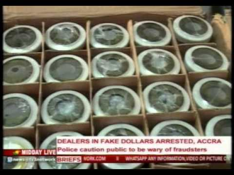 MiddayLive - Dealers in fake dollars arrested in Accra -28/1/2016