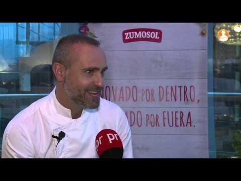 Rodrigo de la Calle es la imagen de la nueva Gama Vitalidad de Zumosol