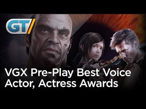 VGX Pre-Play - Best Voice Actor & Actress Awards