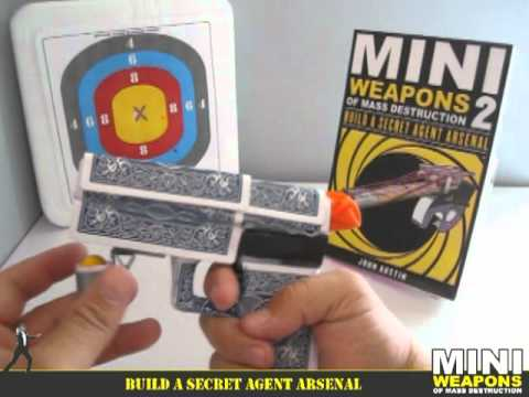 Homemade Gun Weapon // Candy Glock 33 / Mini Weapons of Mass Destruction