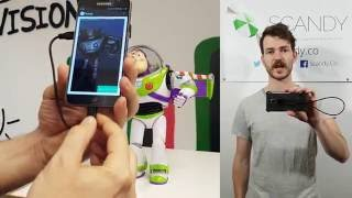 Scandy Pro + pmd: High-Quality 3D Scanning for Android