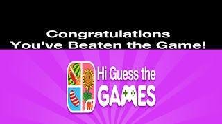 Hi Guess The Games | All Level Answers 1 - 103