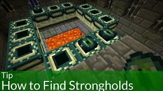 Tip: How to Find Strongholds in Minecraft