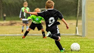 KIDS IN FOOTBALL  AMAZING FAILS SKILLS GOALS