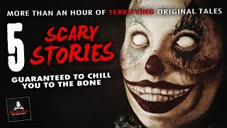 "5 Scary Stories to Give You Nightmares 💀 ""By a Silver Thread"" & Other Stories"