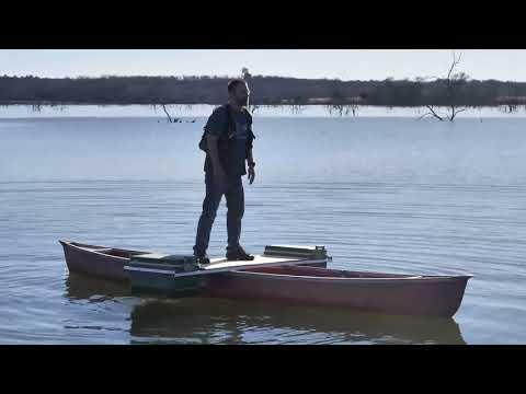 Canoe Outrigger, Homemade