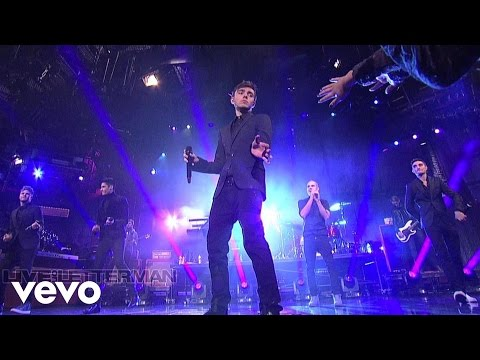 The Wanted - I Found You (Live @ Letterman, 2013)