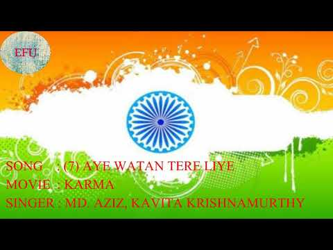 Top 7 patriotic song || INDEPENDENCE DAY || EVERYTHING FOR YOU