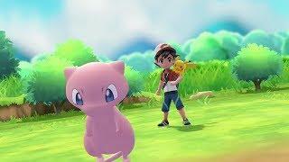 Mew Pokeball Plus Announcement for Pokemon Let's Go Pikachu & Eevee  - E3 2018