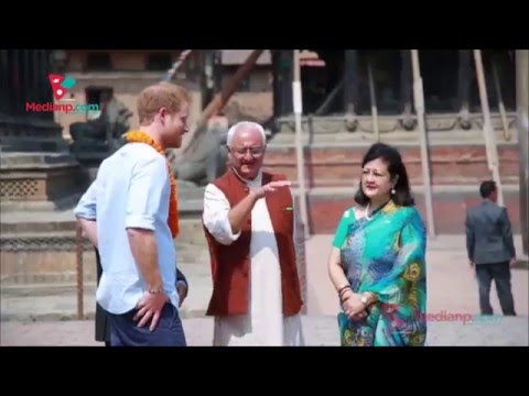 Prince Harry visits some important area of Patan , Nepal  | Daily Exclusive News ( Media Np TV)