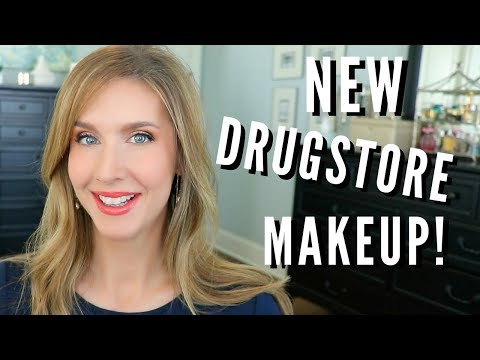 DRUGSTORE GRWM 2018   WITH REVIEWS   NEW COVERGIRL & MORE!