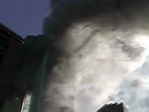 9/11 Plane hit, WAKE VORTEX in smoke