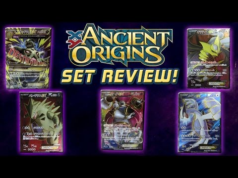 Pokemon Cards Ancient Origins/Bandit Ring TCG Set Review with 8-Bit bboc!