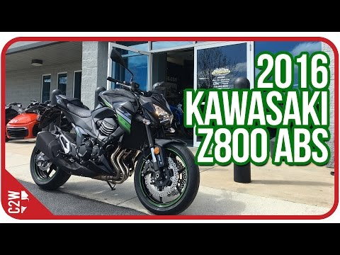 2016 Kawasaki Z800 ABS    First Ride