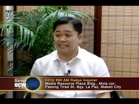 Bantay Ocw Featured Gprs In Usapang Kabuhayan (episode 1) video
