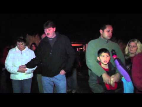 Raw: Vigil After Shooting in Newtown, Conn.