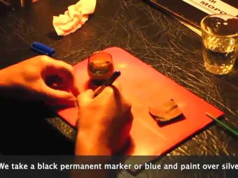 как почернить потемнить состарить серебро рисунок на серебро не смываемый не стираемый silver
