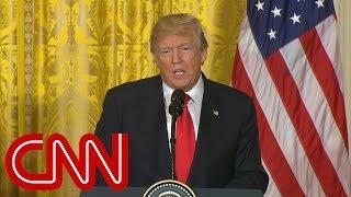 Trump: Collusion between Democrats and Russia