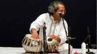 Pt. Yogesh Samsi - Tabla Solo at Abbaji's Guru Purnima - 1/2