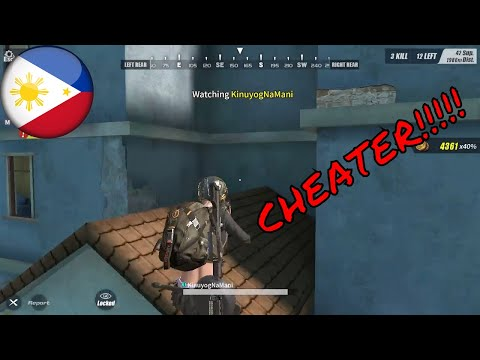 CHEATER! - Ang daming CHEATER! - Rules Of Survival PC - Pinoy #1