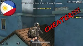 CHEATER! - Ang daming CHEATER! - Rules Of Survival PC - Pinoy