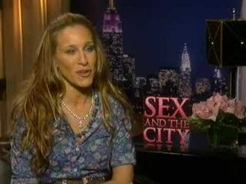 Sex and The City Movie - Sarah Jessica Parker Interview