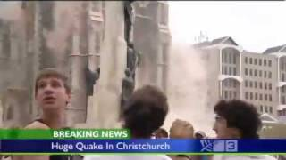 Christchurch Second Big Quake recored same day 2nd video.