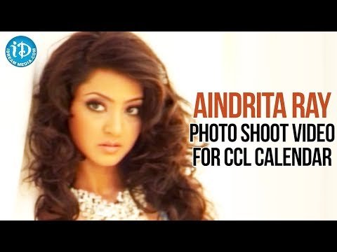 Aindrita Ray Hot Photoshoot For CCL Calendar | karnataka bulldozers - Brand Ambassador