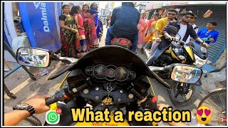 Superbike morning ride | Durga puja | Superbike Reactions