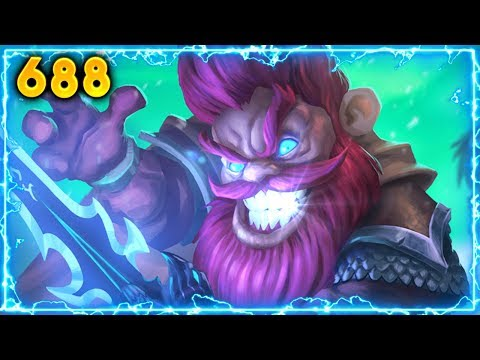 Mans Lucky.. | Hearthstone Daily Moments Ep. 688