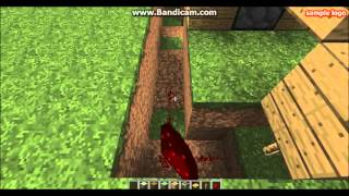 Minecraft Redstone 3 [Sticky Piston kapısı]