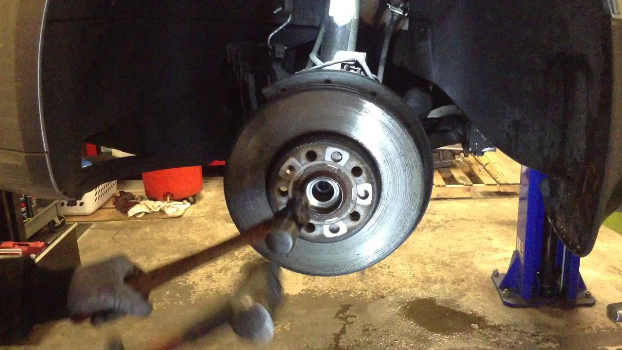 2006 Volkswagen Jetta Tdi Front Wheel Hub Bearing Youtube